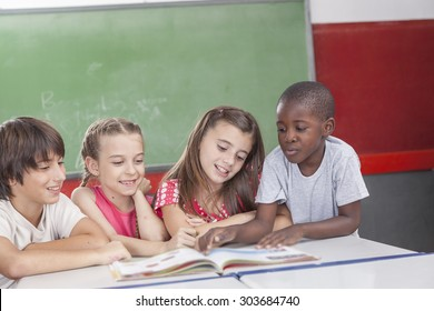 Pupils reading togethers