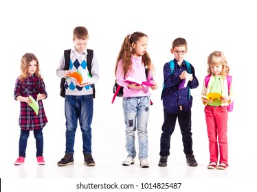 The pupils are ready for school
