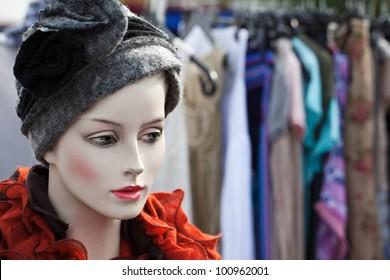 Puppet on flea market