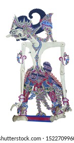 Puppet or Wayang Kulit, one of the traditional art of Java, Indonesia. Mahabharata and ramayana story adopted from india. Tells the story of a day in the life of human