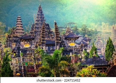 Pura Besakih temple, Bali, Indonesia