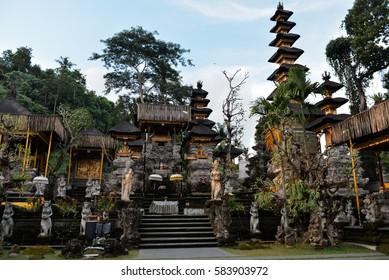 Pura Gunung Lebah temple, Ubud, Bali, Indonesia