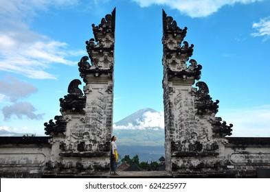 Pura Luhur Lempuyang temple Bali Indonesia