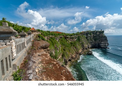 Pura Luhur Uluwatu clip with good weather