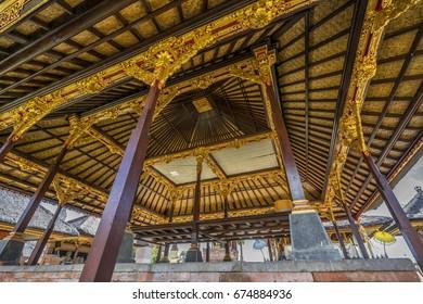 Pura Penataran Sasih, Once it was State temple of the Pejeng Kingdom. Located in Tampaksiring, Blahbatuh, Bali, Indonesia