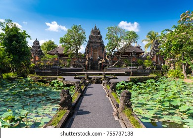 Pura Taman Saraswati Temple in Ubud, Indonesia