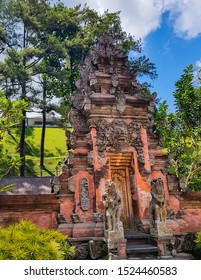 Pura Tirta Empul Temple, Tampaksiring, Bali, Indonesia - Hindu Balinese water temple famous for its holy spring water, where Balinese Hindus go to for ritual purification.