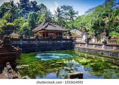Pura Tirta Empul temple, Tampaksiring, Ubud, Bali, Indonesia