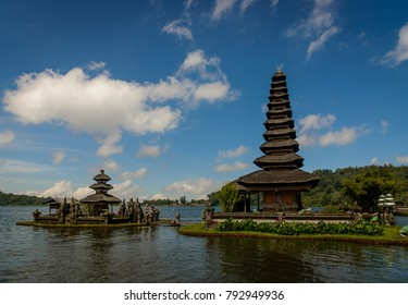 Pura Ulun Danu Beratan, or Pura Bratan, is a major Shaivite water temple on Bali, Indonesia