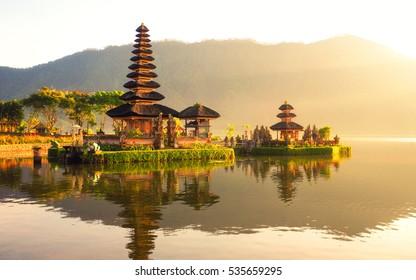 Pura Ulun Danu Bratan in Bali island , Indonesia.