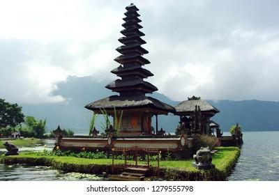 Pura Ulun Danu Bratan or Bratan Pura is a large water temple in Bali, Indonesia - the other main water temples are Ulun Danu Batur Temple.