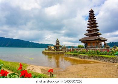 Pura Ulun Danu Bratan is a major Shivaite and water temple on Bali island, Indonesia.