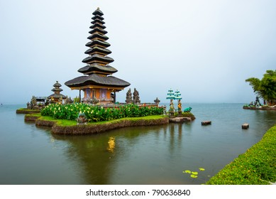 Pura Ulun Danu Bratar - water temple on Bali, Indonesia.