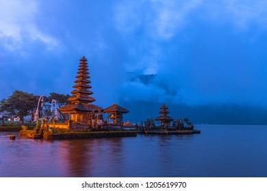 Pura Ulun danu temple Bali Indonesia