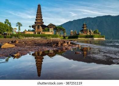 Pura Ulundanu (Ulundanu Temple), Lake Beratan, Bali