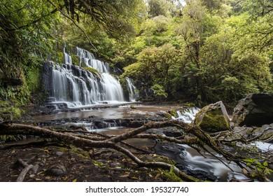 Purakaunui Falls / New Zealand