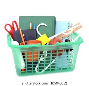 Purchase of school supplies in school back