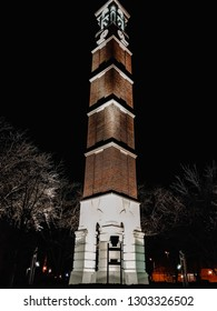 Purdue Bell Tower at Night