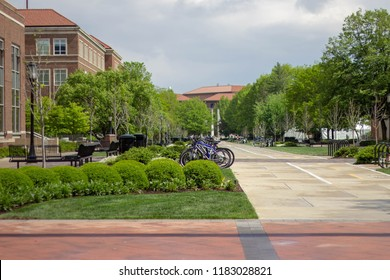 Purdue University campus bike paths