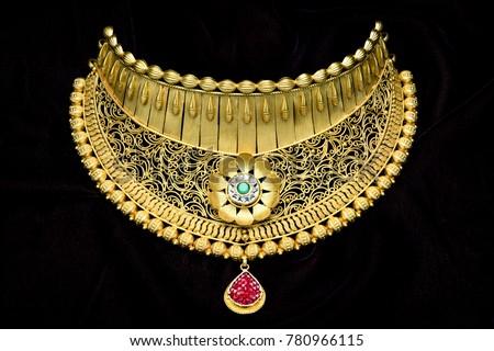 Pure 24 Carat Gold Jewellery Necklace