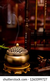 smelling incense Images, Stock Photos & Vectors | Shutterstock