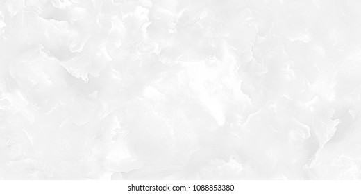 Pure White Marble With Cloud Texture Effect