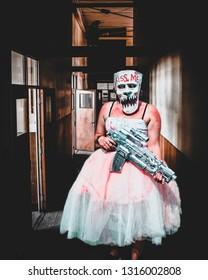 Purge Girl Horror