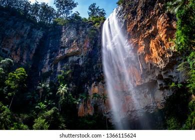 Purling Brook Falls, Springbrook National Park, Australia