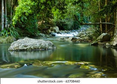 Purling falls, Springbrook, Queensland Australia