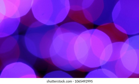 purple abstract background with bokeh