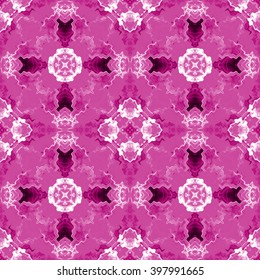 purple abstract lines, geometric seamless pattern
