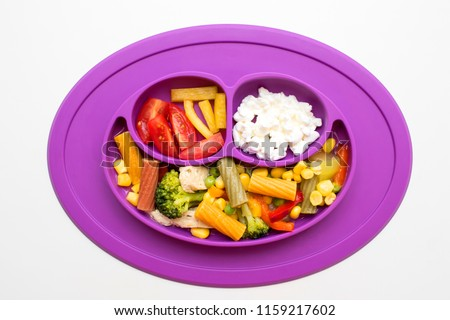 Cups, Dishes & Utensils Baby Weaning Plate