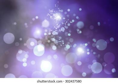 Purple bokeh and my idea Purple glitter background