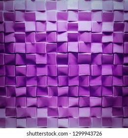 Purple brick wall texture background