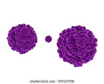 purple clots