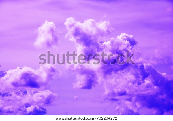 purple clouds and sky for background Abstract,postcard nature art pastel style,soft and blur focus.