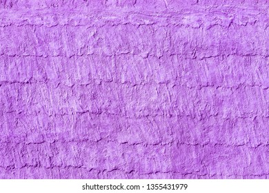 Purple concrete wall background abstract.