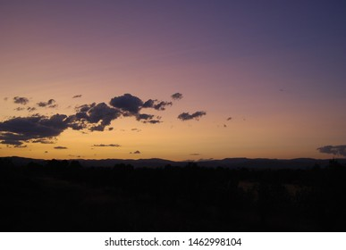 Purple Country Evening Sunset, Skyscape