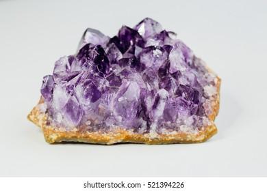Purple gemstone geological mineral stone jewelry