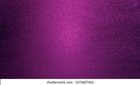 Purple glitter lights background. defocused glitter