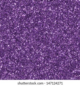 Purple glitter for texture or background