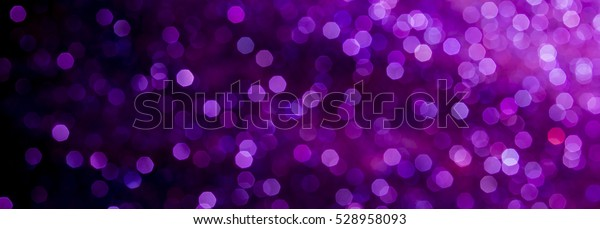 purple glitter texture christmas abstract - panoramic background or bokeh with blank space
