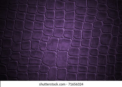 purple gridded  leather texture
