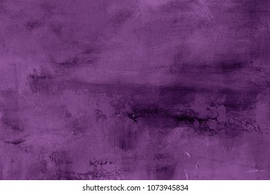 purple grungy painting background or texture