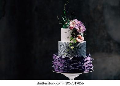 Violet Cake Images Stock Photos Vectors Shutterstock