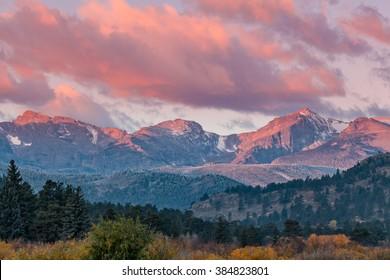 Purple Mountain Majesty at Sunrise
