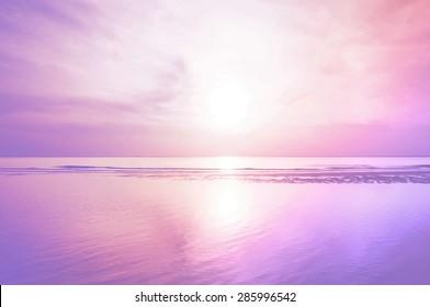 purple nature background