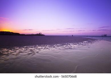 Purple Ningaloo Reef Sunset