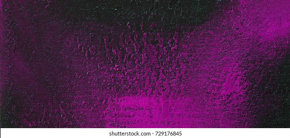 Purple / pink & black background texture - panoramic abstract design.