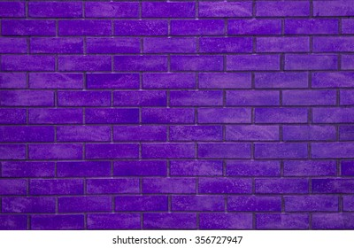 Purple rectangle brick wall, colorful and pastel background.